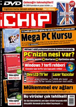 CHIP Dergisi Ekim 2009