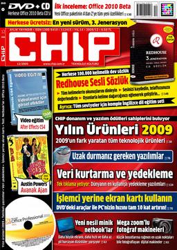 CHIP Dergisi Aralık 2009
