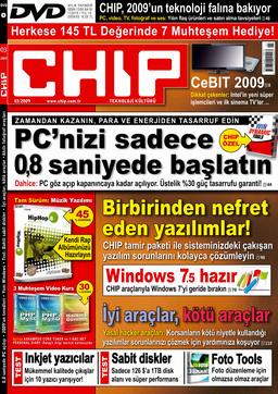 CHIP Dergisi Mart 2009