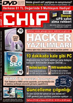 CHIP Dergisi Nisan 2009
