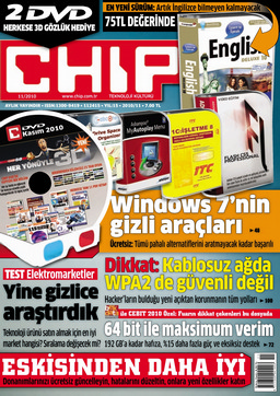 CHIP Dergisi Kasım 2010