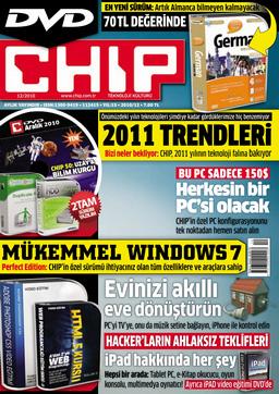 CHIP Dergisi Aralık 2010