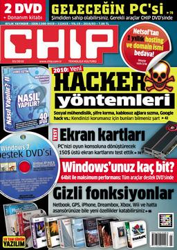 CHIP Dergisi Mart 2010