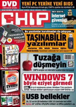 CHIP Dergisi Nisan 2010