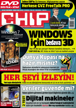 CHIP Dergisi Haziran 2010