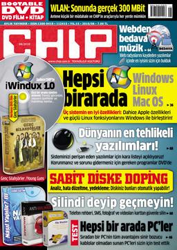 CHIP Dergisi Ağustos 2010