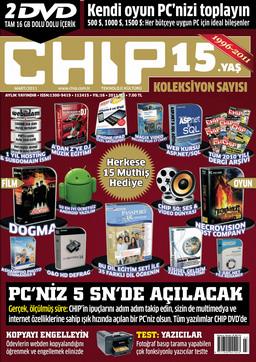 CHIP Dergisi Mart 2011