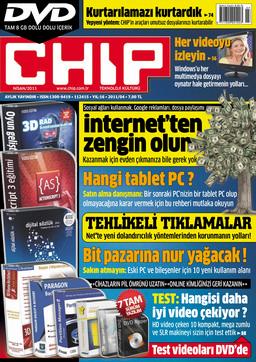 CHIP Dergisi Nisan 2011