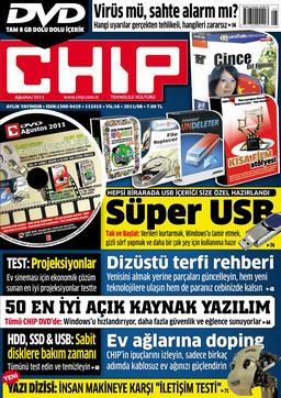 CHIP Dergisi Ağustos 2011