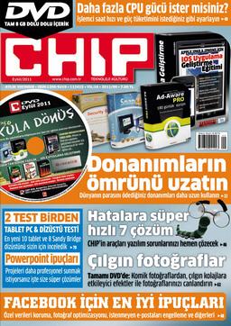 CHIP Dergisi Eylül 2011