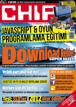 CHIP Dergisi Ekim 2012