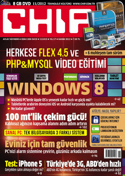 CHIP Dergisi Kasım 2012