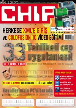 CHIP Dergisi Aralık 2012
