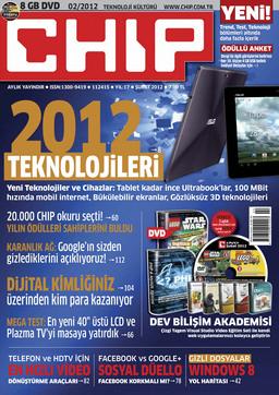 CHIP Dergisi Şubat 2012