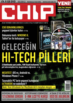 CHIP Dergisi Mart 2012