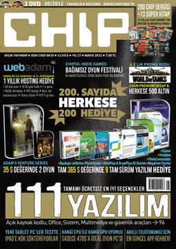 CHIP Dergisi Mayıs 2012