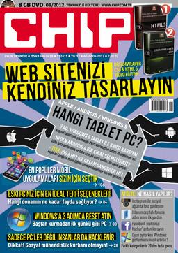CHIP Dergisi Ağustos 2012