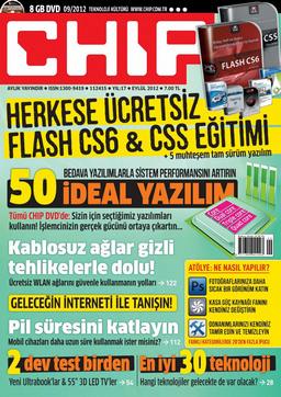 CHIP Dergisi Eylül 2012