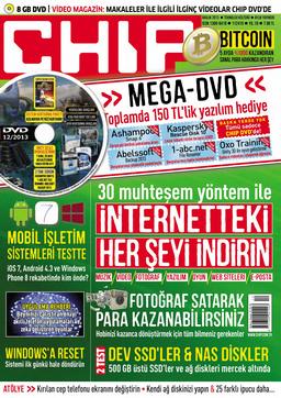 CHIP Dergisi Aralık 2013