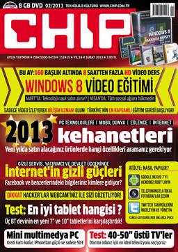 CHIP Dergisi Şubat 2013