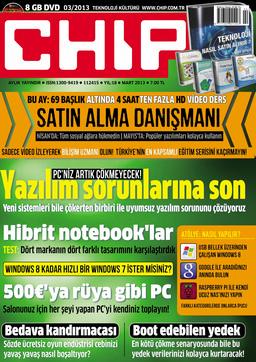 CHIP Dergisi Mart 2013