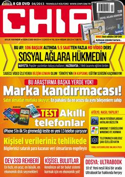 CHIP Dergisi Nisan 2013