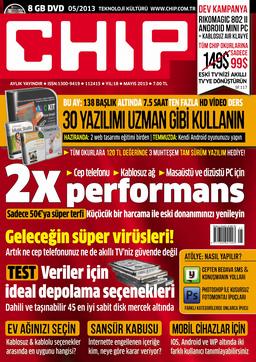 CHIP Dergisi Mayıs 2013