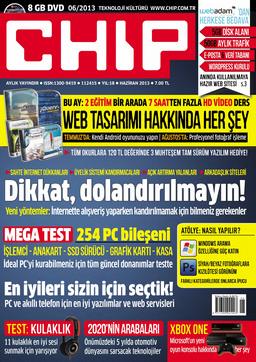 CHIP Dergisi Haziran 2013
