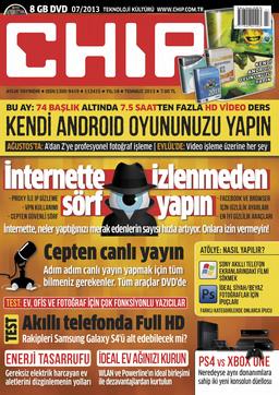 CHIP Dergisi Temmuz 2013