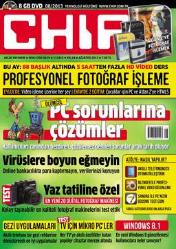 CHIP Dergisi Ağustos 2013