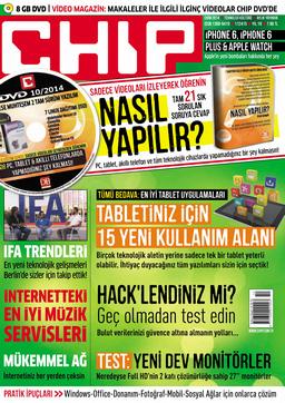 CHIP Dergisi Ekim 2014