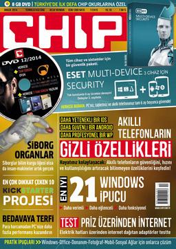CHIP Dergisi Aralık 2014