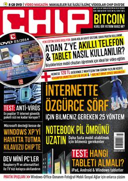 CHIP Dergisi Mart 2014
