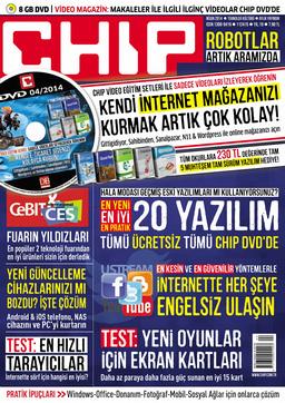 CHIP Dergisi Nisan 2014