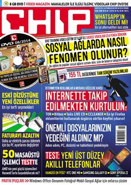 CHIP Dergisi Ağustos 2014