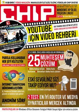 CHIP Dergisi Eylül 2014