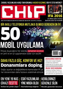 CHIP Dergisi Ekim 2016