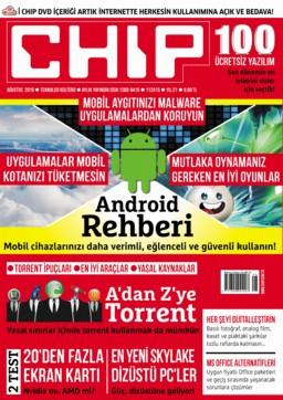 CHIP Dergisi Ağustos 2016