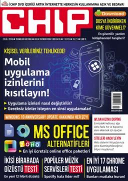 CHIP Dergisi Eylül 2016