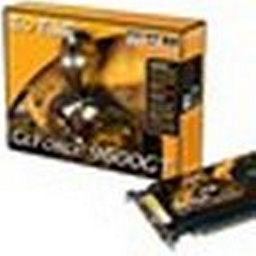 Zotac GeForce 9600GT AMP!: İnce tasarım
